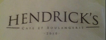 Hendrick's Cafe et Boulangerie is one of Para ir.