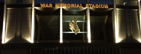 War Memorial Stadium is one of dos....