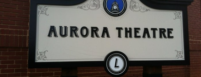 Aurora Theatre is one of Locais curtidos por Leslie.