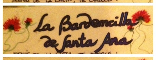 La Bardemcilla De Santa Ana is one of Tapas.