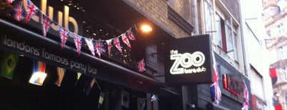Zoo Bar & Club is one of Guide To London's Best Spot's.