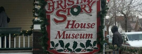A Christmas Story House & Museum is one of Come C Cleveland! #VisitUs.