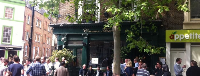 The Crown Tavern is one of London 2013.