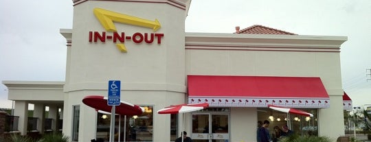 In-N-Out Burger is one of Lieux qui ont plu à Israel.
