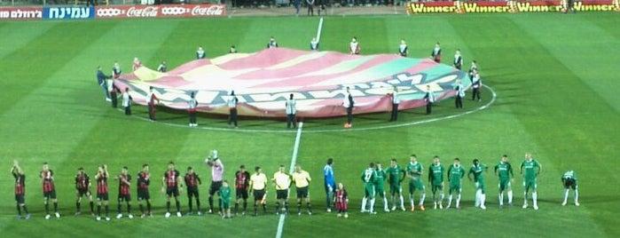 Kiryat Eliezer Stadium is one of Part 1~International Sporting Venues....