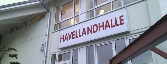 Havellandhalle is one of Lieux qui ont plu à Oli.