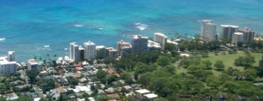 Diamond Head State Monument is one of Oahu: The Gathering Place.