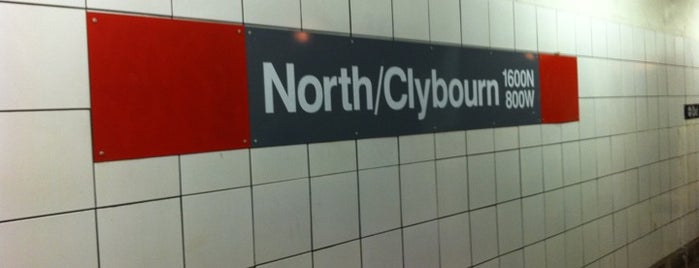 CTA - North/Clybourn is one of Andy : понравившиеся места.