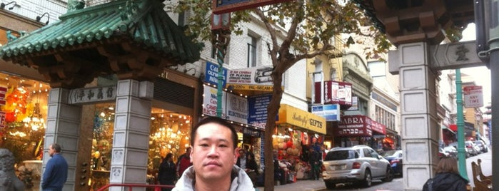 Chinatown Gate is one of San Francisco Dos.