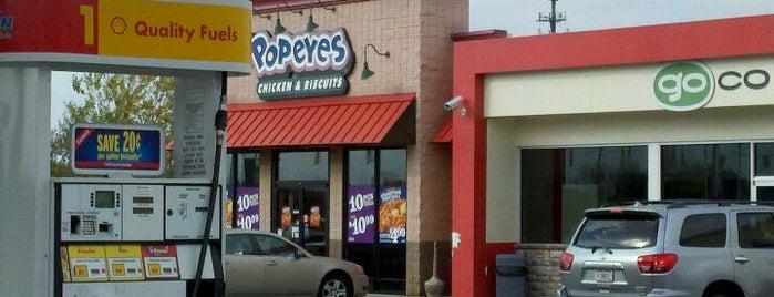 Popeyes Louisiana Kitchen is one of Cinci Work Food.
