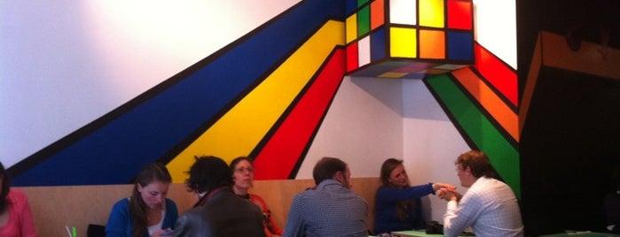 Rachel - Bagels & Burgers is one of Bons plans Bruxelles.