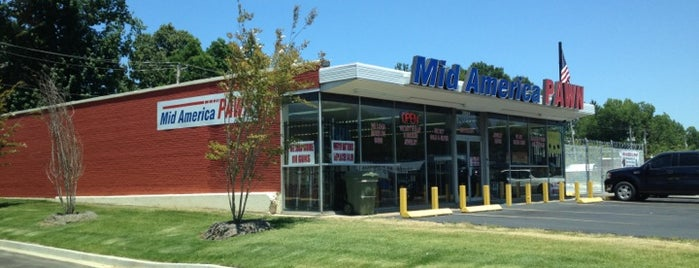 Mid America Pawn is one of West Tennessee Gun Stores and Ranges.