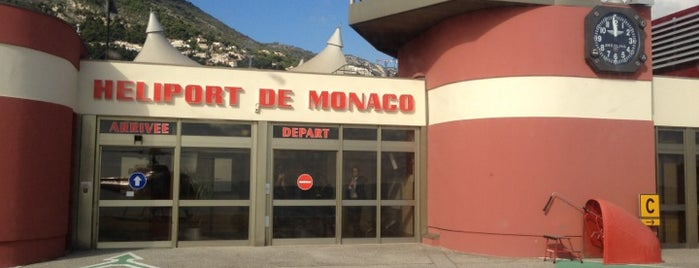 Heliport de Monaco is one of Lugares favoritos de Darrell.