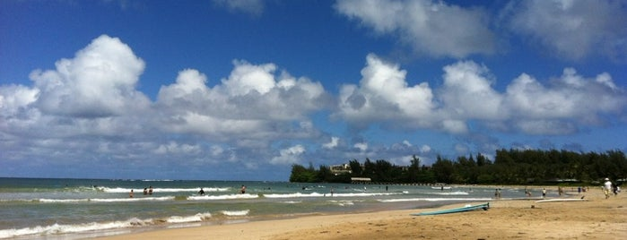 Hanalei Beach is one of Orte, die Steve gefallen.