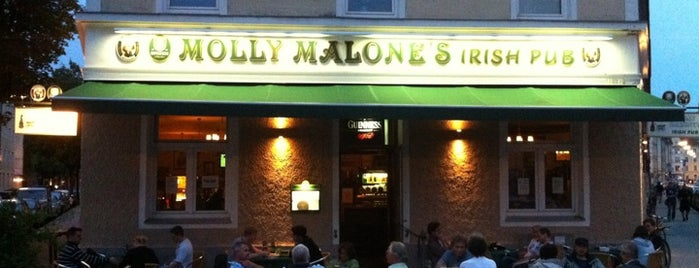 Molly Malone's is one of donnersday [bar & food].