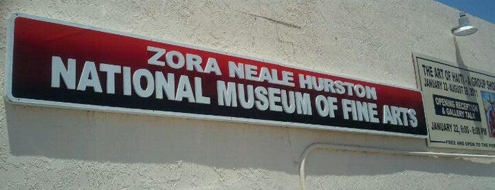 Zora Neale Hurston Museum of Fine Arts is one of Best Art Spots.