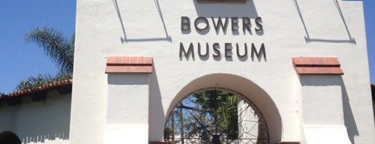 Bowers Museum is one of Places to go, things to do.