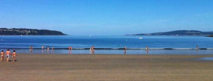 Praia Grande de Miño is one of Playas de España: Galicia.