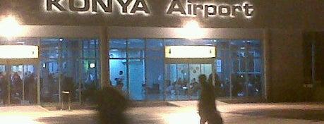 Konya Havalimanı (KYA) is one of Türkiye'deki Havalimanları.