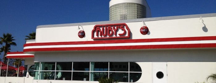Ruby's Diner is one of Orte, die Charley gefallen.