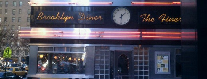Brooklyn Diner is one of NYC Essential Eats.