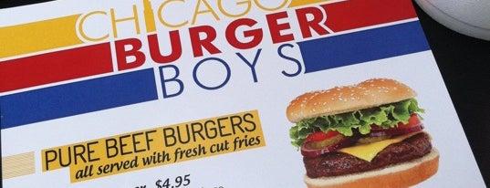 Chicago Burger Boys is one of Damn Good Burger.