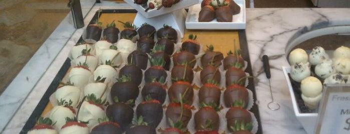 Godiva Chocolatier is one of Dessert Stops.