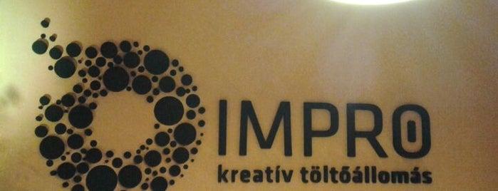 Impro Kreatív Töltőállomás is one of Locais curtidos por Kornelia.