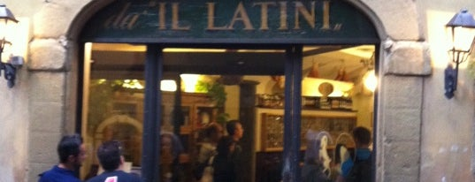 Il Latini is one of Locais salvos de Andre.