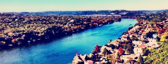Covert Park at Mt. Bonnell is one of Dexter.