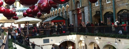 Covent Garden Market is one of Relax in London.