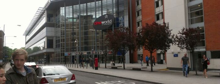 Cineworld is one of Must Visit London.