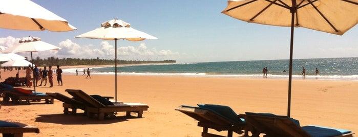 Praia de Taipus de Fora is one of Costa do Dendê.