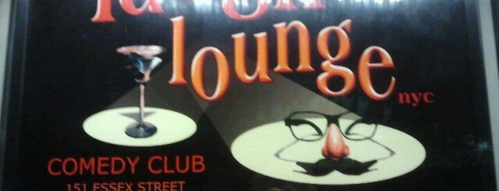 Laugh Lounge is one of NYC Comedy Clubs.