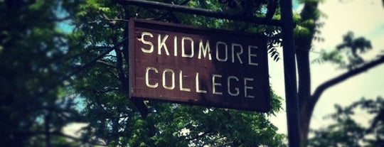 Skidmore College is one of BEAR LANGUAGE SXSW + SPRING TOUR 2013.