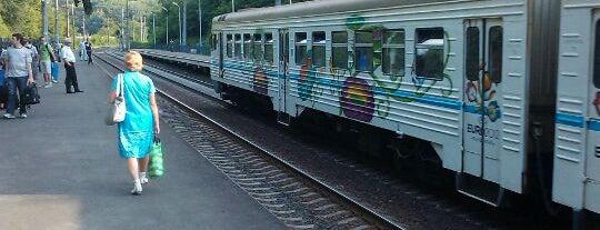 Залізнична платформа «Сирець» is one of походеньки.