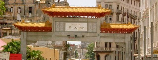 Barrio Chino - Chinatown is one of Havana.