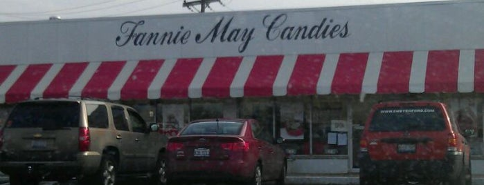 Fannie May Candies is one of favorites 1.