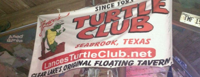 Lance's Turtle Club is one of Clear Lake's best spots.