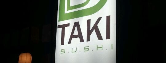 Taki Sushi is one of Maria Clara 님이 좋아한 장소.