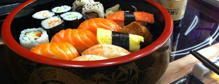 Itamae Sushi is one of Sushi Sampler.