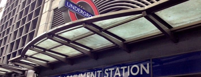 Monument London Underground Station is one of Londen.