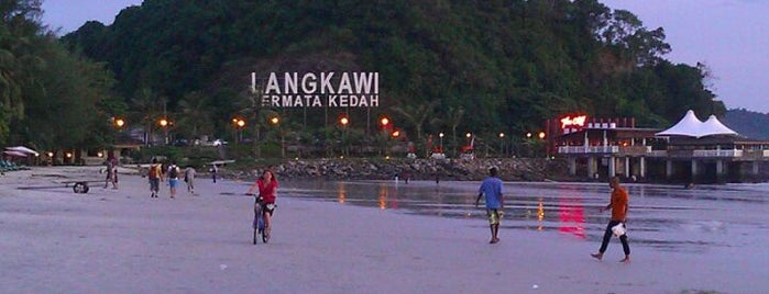 Pantai Cenang (Beach) is one of Langkaw.