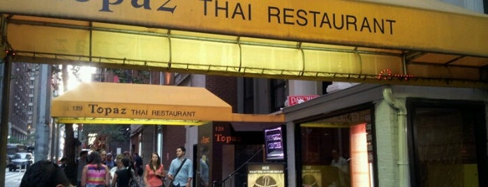 Topaz Thai Authentic is one of lunch spots.