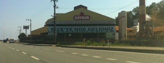 Rize is one of Locais salvos de Huseyin.