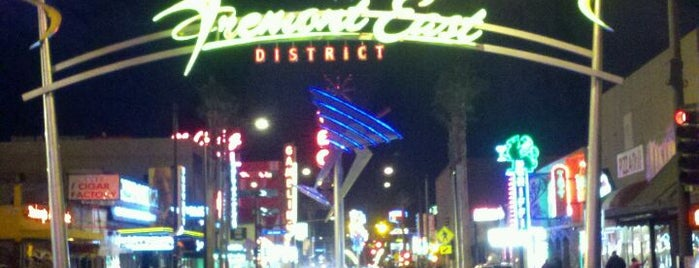 Fremont East Entertainment District is one of Guide to Las Vegas's best spots.