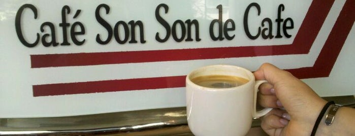 Cafe Son, Son De Cafe is one of Café / Té & Pan.