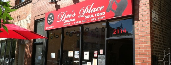 Dee's Place is one of Locais salvos de Ron.