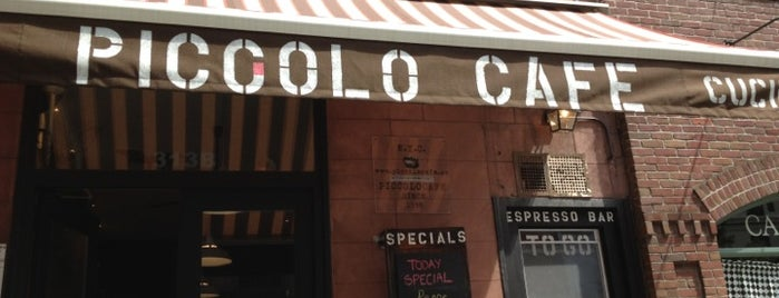 Piccolo Café is one of USA NYC MAN UWS.