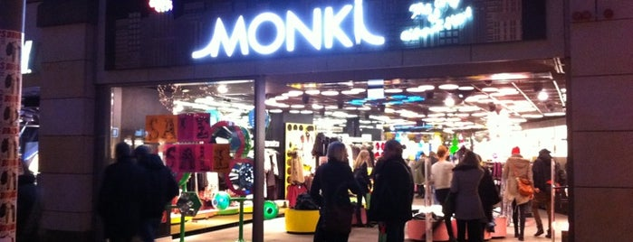 Monki is one of To-Do-Hamburg.